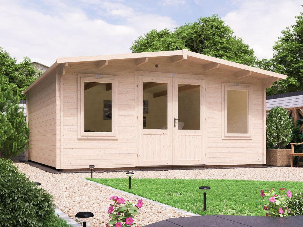Severn Log Cabin W5.0m x D5.0m