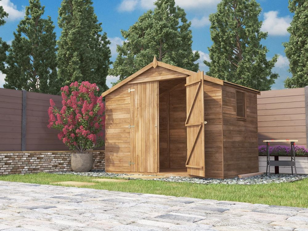 Latli Heavy Duty Pressure Treated Shed W3.05m x D1.83m