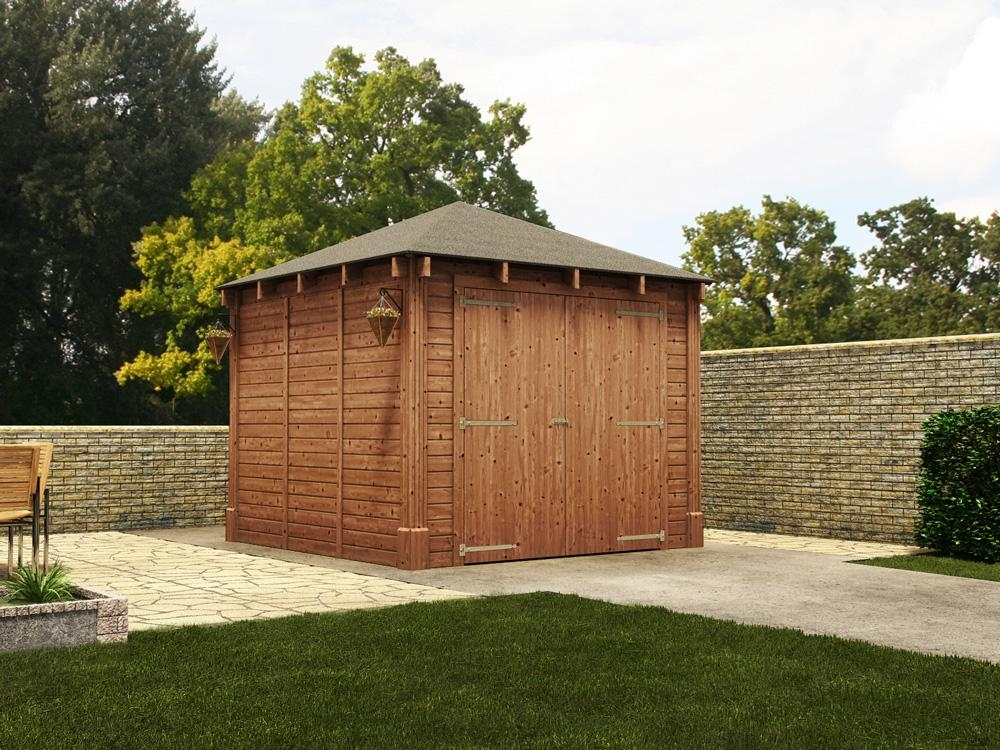 Atlas Single Shallow Garage W3.2m x D3.2m