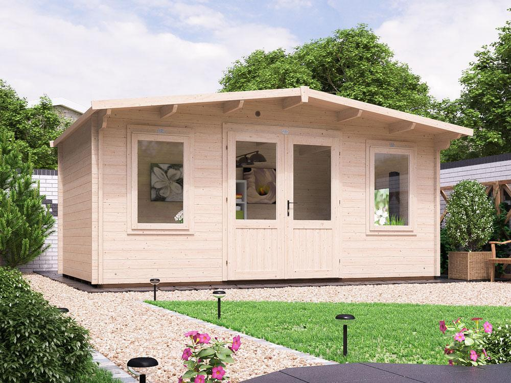 Severn Log Cabin W5.0m x D2.5m