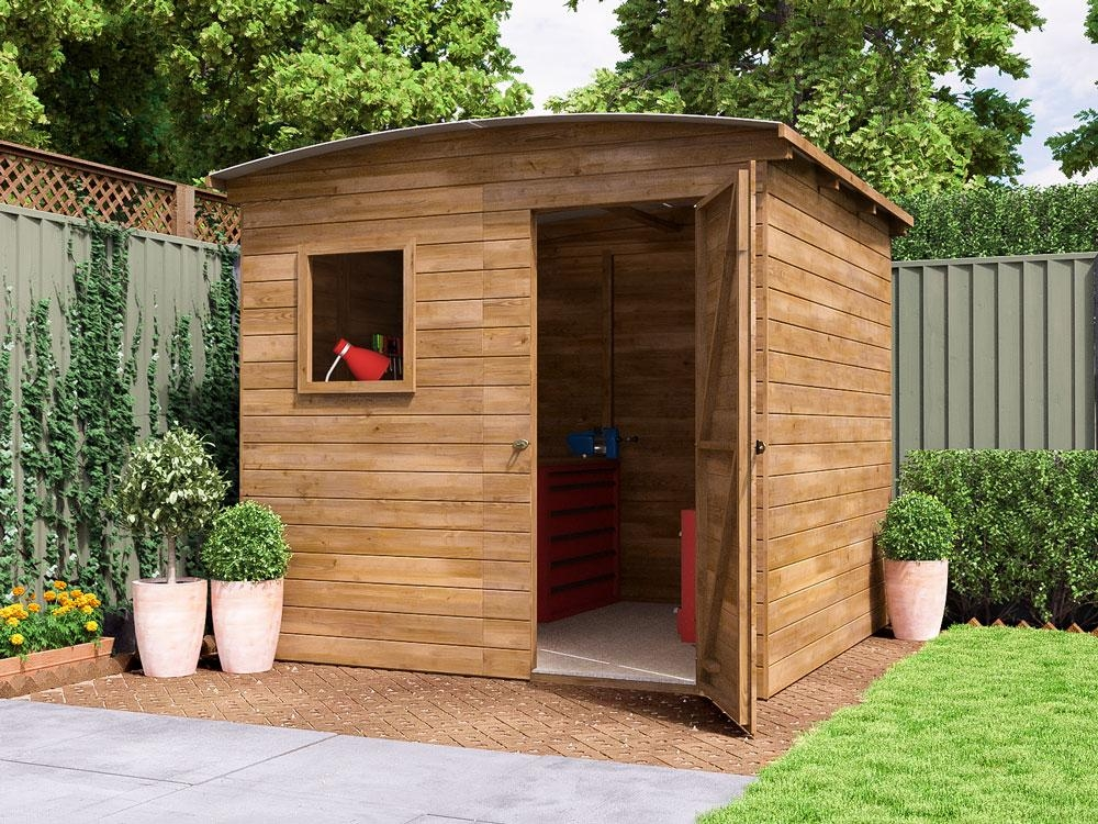 ThunderRoof Tom Heavy Duty Pressure Treated Shed W2.5 x D2.5m