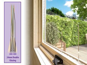 Double Glazing Included As Standard