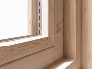 Internally Beaded Windows Log Cabins